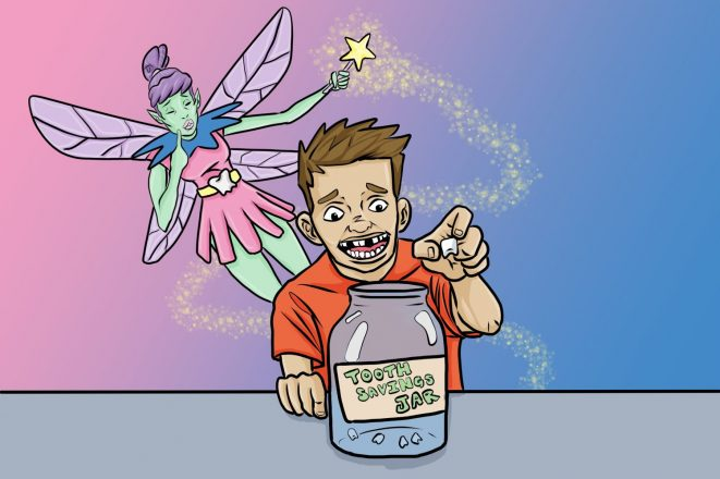 Kids' Money Personality: The Tooth Fairy Savings Plan