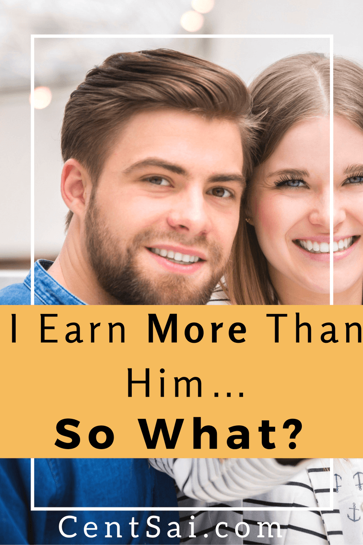 I'm Earning More Money Than Him... So What? Men are often expected to earn more than their partners, but is it so bad for a woman to be earning more money in the relationship? #earningmoremoney #earningmoreincome
