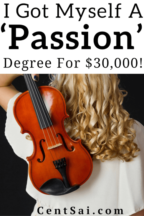 I Got Myself A 'Passion' Degree For $30,000! Despite the debt and the criticism, I still think my degree was worth all of it.