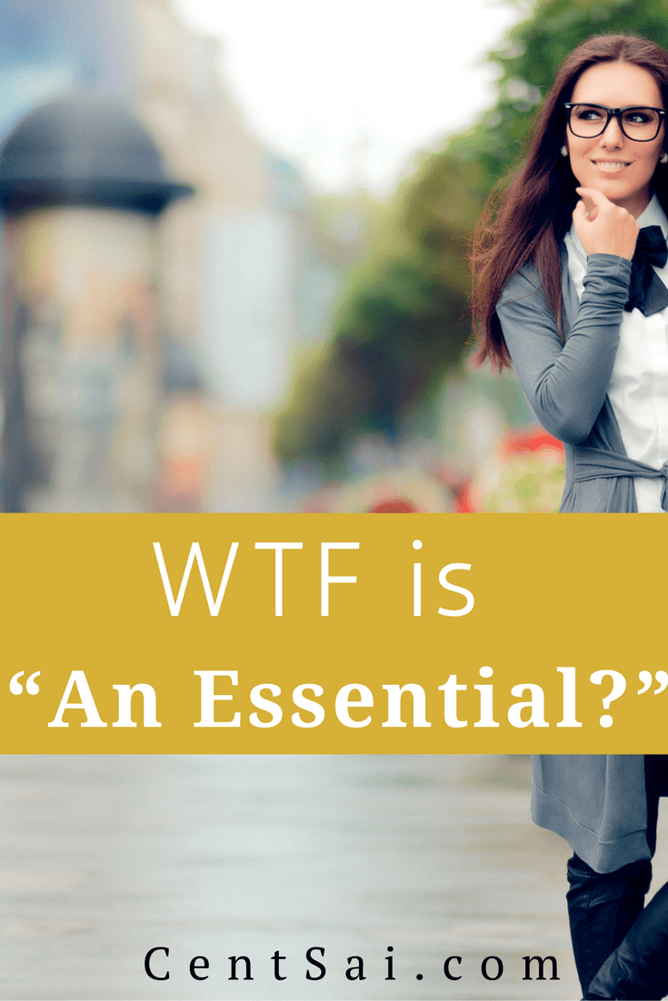 "The younger generations' definition of what is ""essential"" has broadened to include, well... non-essentials. But is this a bad thing?"