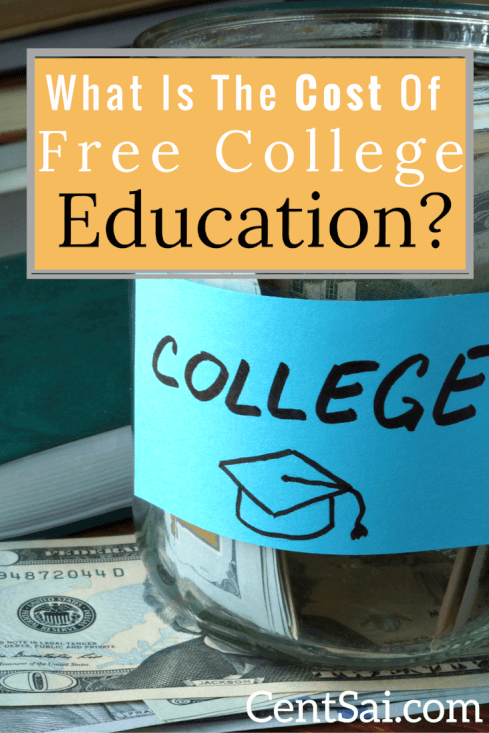 What is the Real Cost of a Free College Education? Free college education for all sounds wonderful, but is it doable? And what's the real cost to to the government and to taxpayers? #freecollege #college #collegestudent #costofcollege #costoffreecollege