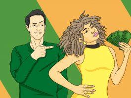 When a Wife Makes More Money, Does It Matter? | Art by Jonan Everett