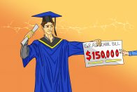 Should I Go to Grad School? When to Get a Masters | art by Jonan Everett