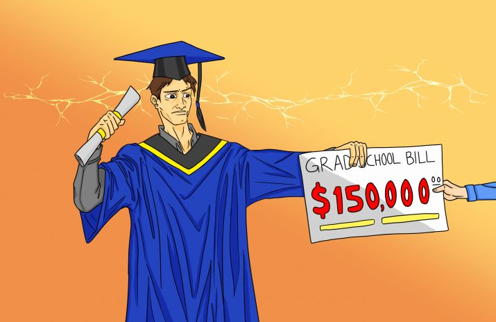 Should I Go to Grad School? When to Get a Masters | art by Jonan Everett