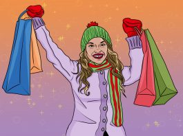 10 Smart Holiday Shopping Tips: Go Big, Not Broke | Art by Jonan Everett