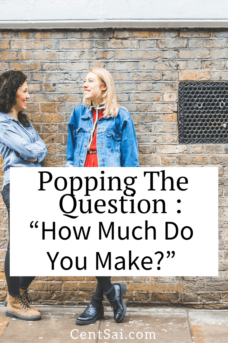 Popping the Question: 'How Much Money Do You Make?' Many people would rather talk about their sex lives than discuss their income, debt, or savings rate, but the money talk is important. #Dating #income #Marriage relationship