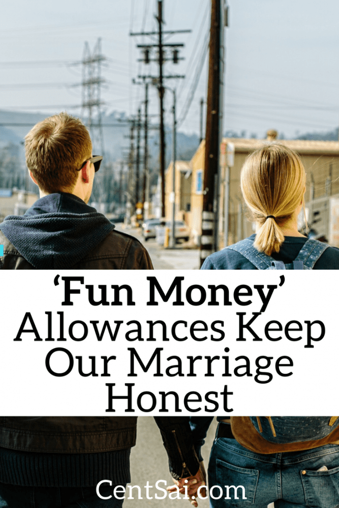 Marital budgeting can be tricky to figure out. I used to get frustrated with the way my husband would spend money on things I didn't find necessary.