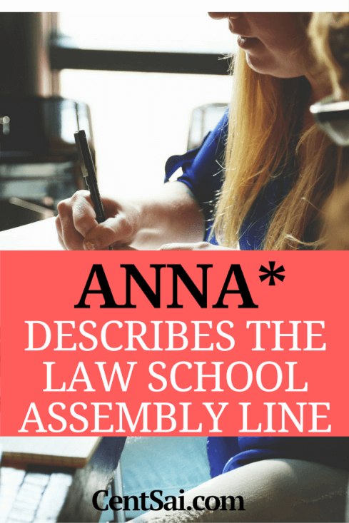 Anna* Describes The Law School Assembly Line. Law schools have become cash cows for many universities, tasked with keeping the tuition dollars rolling in regardless of whether it is good for the students, the (now wildly overpopulated) legal profession, or society.