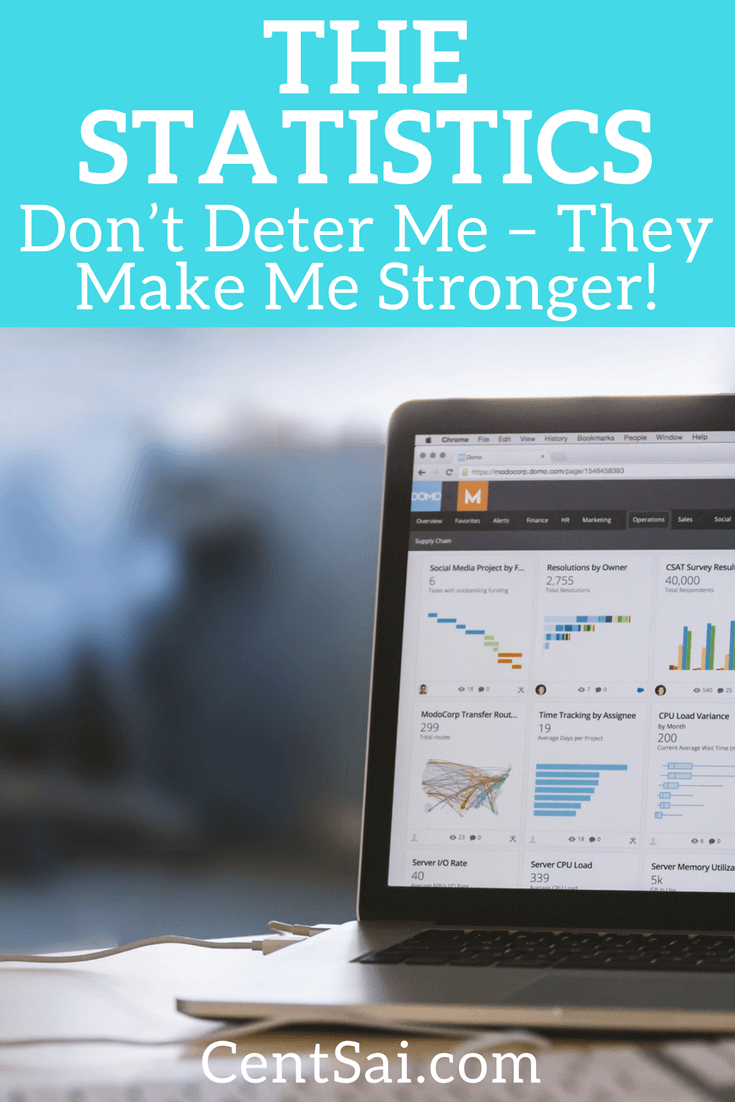 The Statistics Don't Deter Me – They Make Me Stronger!