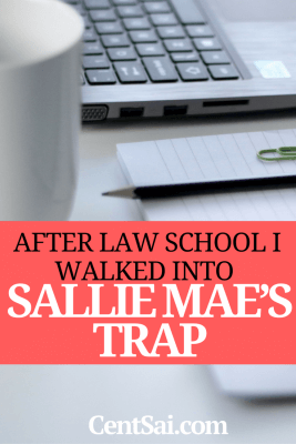 After Law School I Walked Into Sallie Mae's Trap