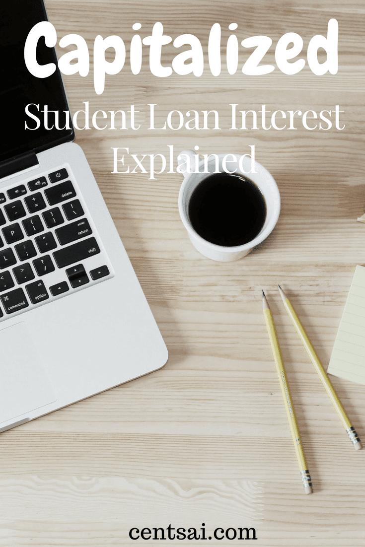 Capitalized Student Loan Interest Explained