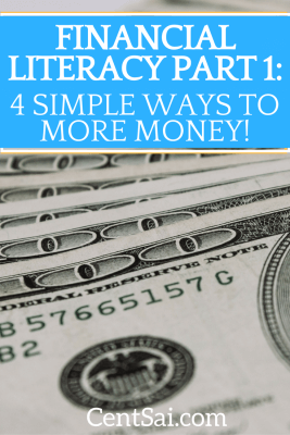 There is no good time or bad time to learn financial literacy tips. Here's the first installment of some valuable lessons we could all remember.