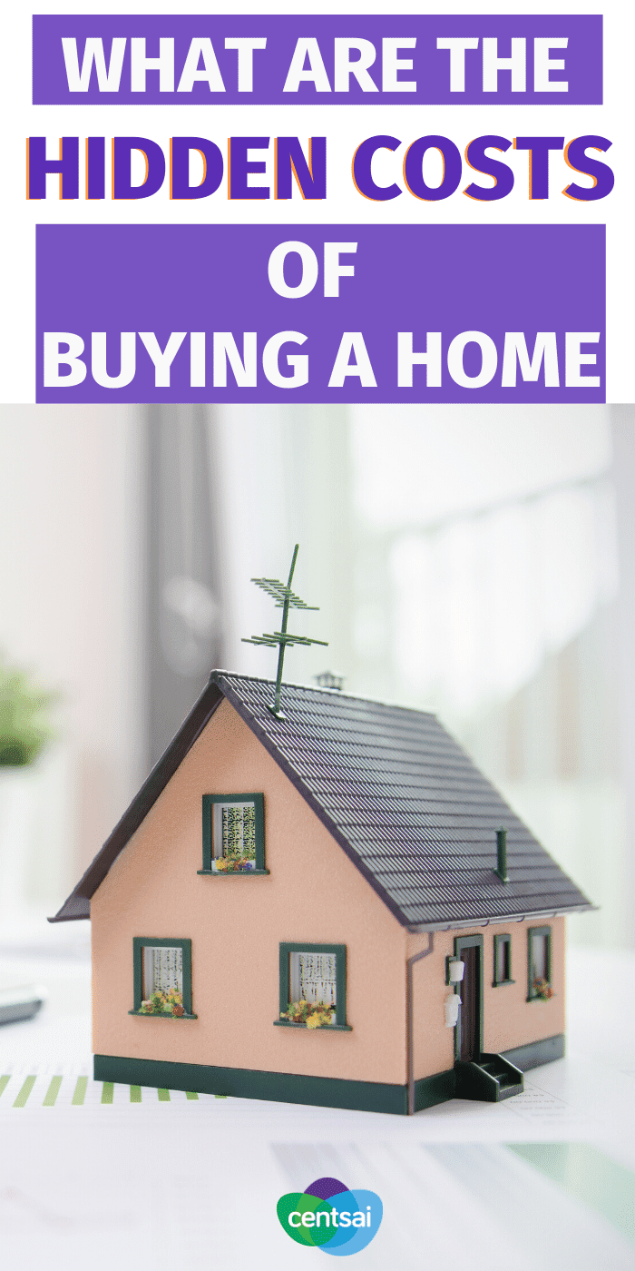 Do You Know All of the Hidden Costs in Buying a House? While our example may be extreme, sometimes the additional costs make home ownership seem much less attractive than just paying the rent every month. #CentSai #realestate #investmentideas #homeownershipfirstime