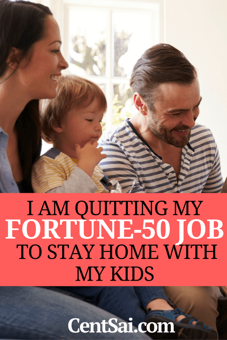 I Am Quitting My Fortune-50 Job To Stay Home With My Kids. One woman's journey in balancing motherhood with careers 1.0 and 2.0.
