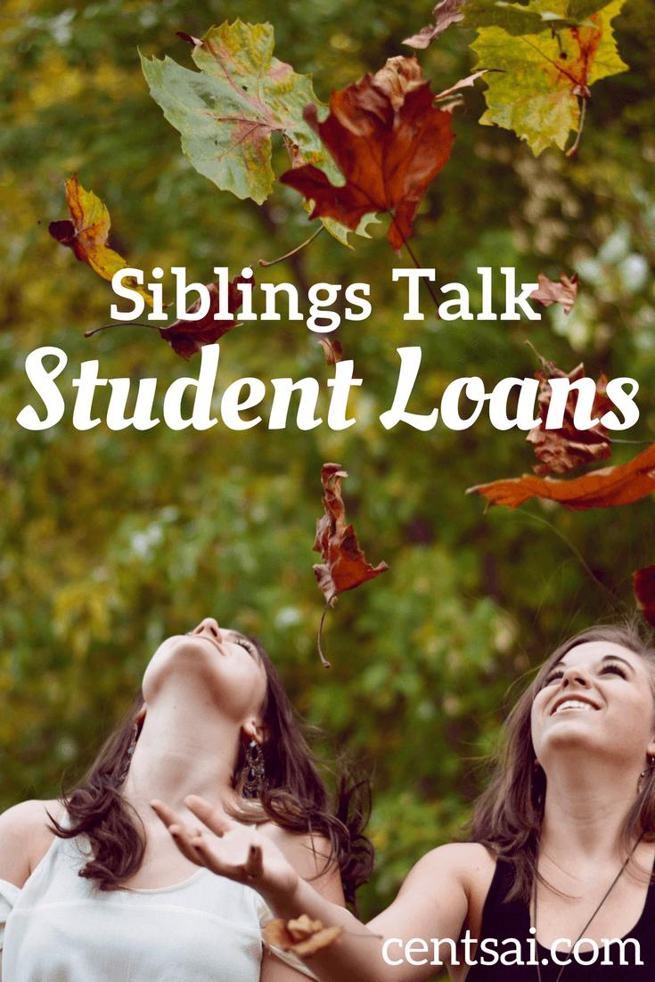 Siblings Talk Student Loans
