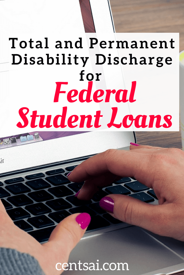 Total and Permanent Disability Discharge for Federal Student Loans