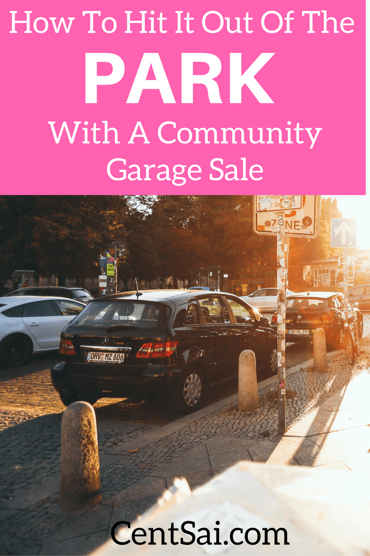 How To Hit It Out Of The Park With A Community Garage Sale