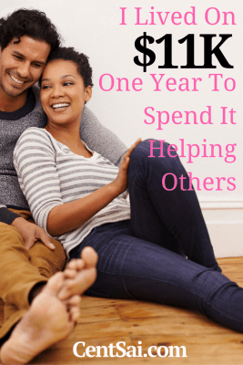 I Lived On $11K One Year To Spend It Helping Others