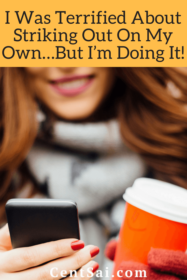 I Was Terrified About Striking Out On My Own...But I'm Doing It!Have you ever thought about earning extra money through a side hustle but were too afraid to try it? That was me too, about four months ago – before I started moonlighting as a freelance writer.