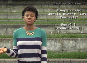 Justin Bieber's 'Love Yourself' Parody