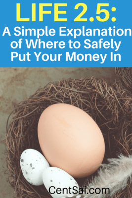 Life 2.5: A Simple Explanation of Where to Safely Put Your Money In. If you are in a full-time job, you probably already have a 401(k) - or some other kind of retirement account like a 403(b) or governmental 457(b) where money gets automatically deducted from your paycheck and put into your plan.