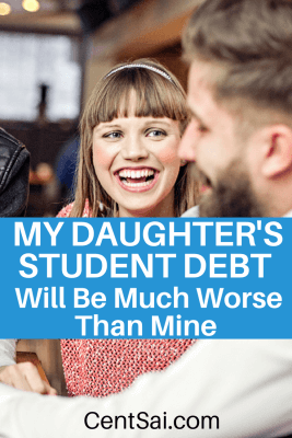 My Daughter's Student Debt Will Be Much Worse Than Mine. As my daughter grabs onto her stuffed elephant, pulling it to her mouth, a smile of accomplishment comes across her face.
