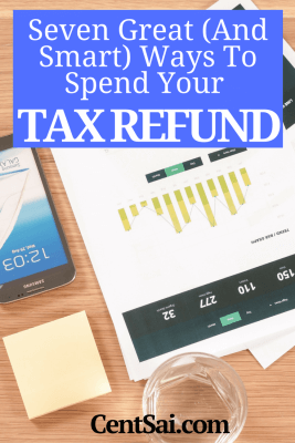 Its tax refund season! As tempting as it may be to take that extra couple of hundred or thousand dollars and go shopping or book a vacation, why not use the money with some end goals in mind? Being a responsible adult isn't always fun, but in the long run you'll be glad you were.