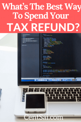 This was the first time since college I would be getting tax money back. In fact, as a small business owner, one of the harsh realities is that getting more than a few bucks refunded on my tax return is almost impossible.