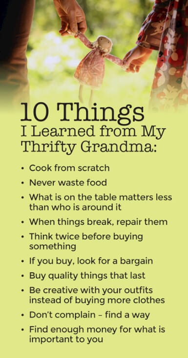Money Lessons That Only a 'Great' Grandma Could Teach