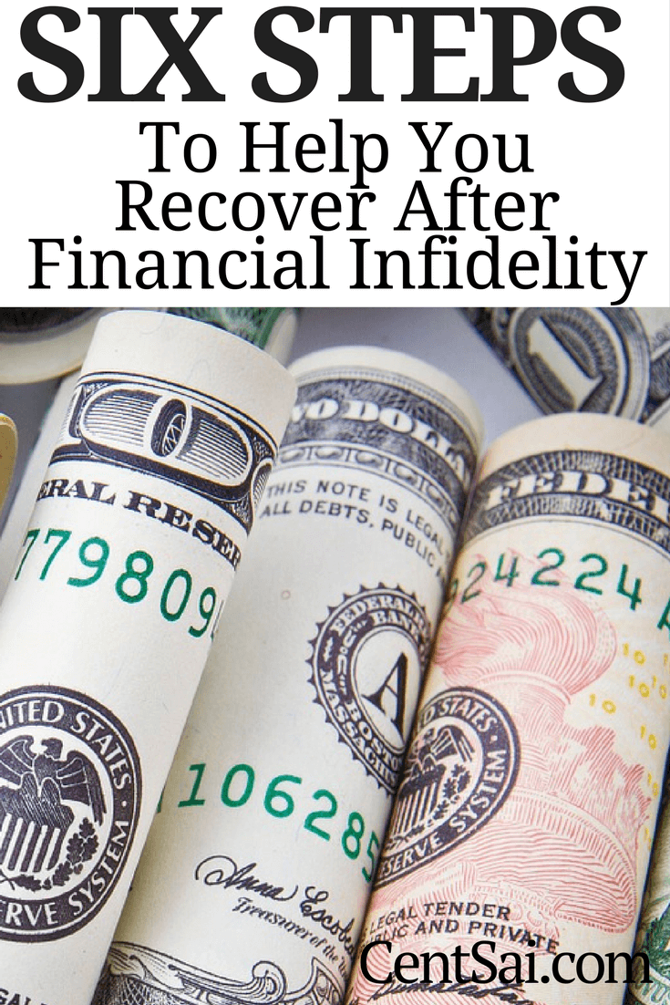 6 Steps to Help You Recover After Financial Infidelity. Here are some ways to move past financial infidelity and rebuild trust with the love of your life