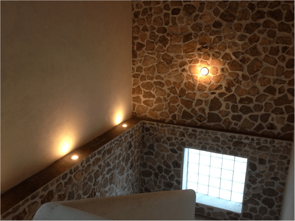 The stairs in my beach house