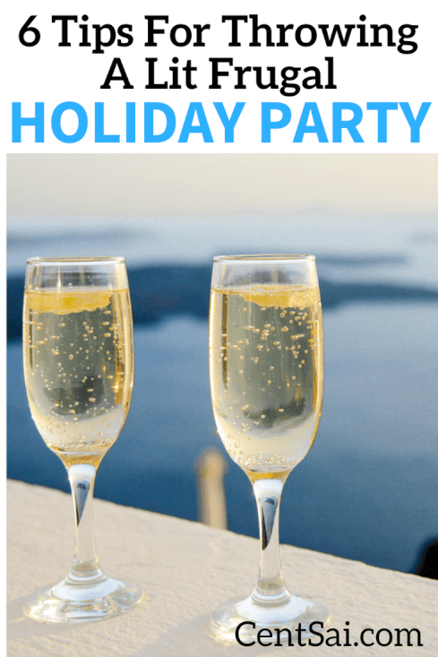 If you're thinking of hosting a holiday party but don't want to spend a lot of cash, don't worry – you can manage it without looking cheap.
