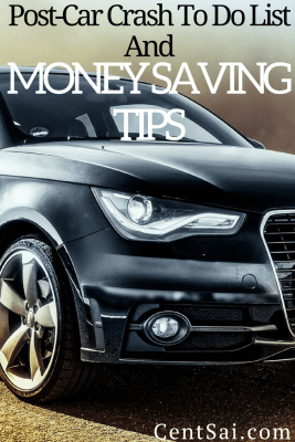 Post-Car Crash To Do List And Money Saving Tips