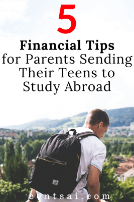 5 Financial Tips for Parents Sending Their Teens to Study Abroad: Wow! Parents like me would definitely love this post! Thanks for sharing!