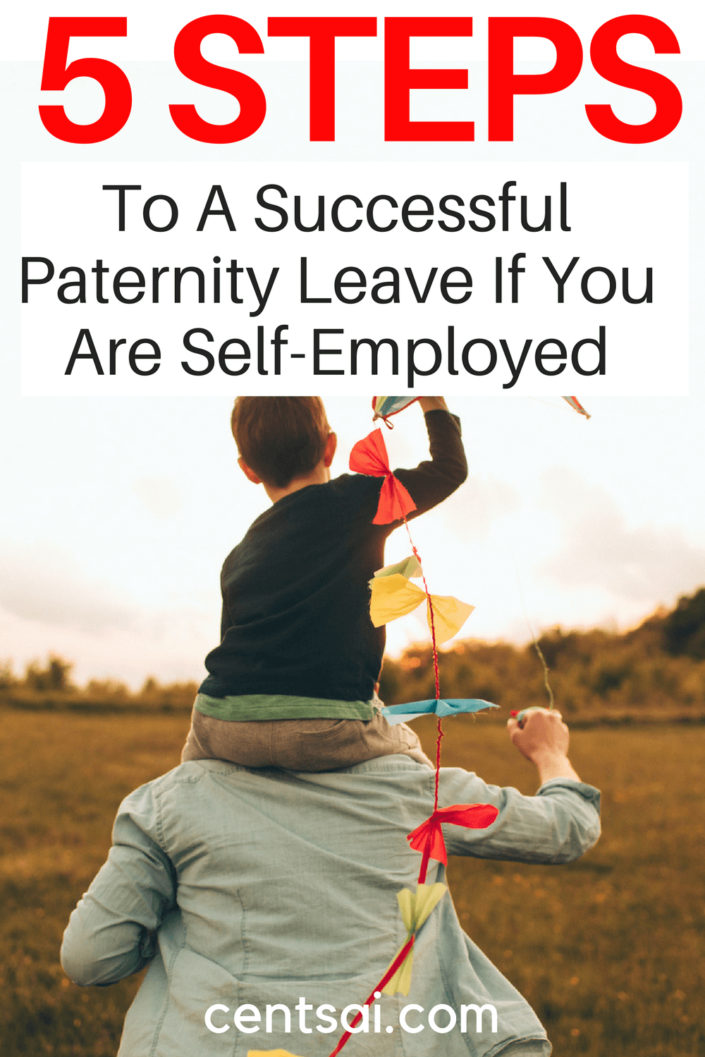 5 Steps To A Successful Paternity Leave If You Are Self-Employed. Working parents - both fathers and mothers - should be able to take time off for their newborn children... Even if they're self-employed.