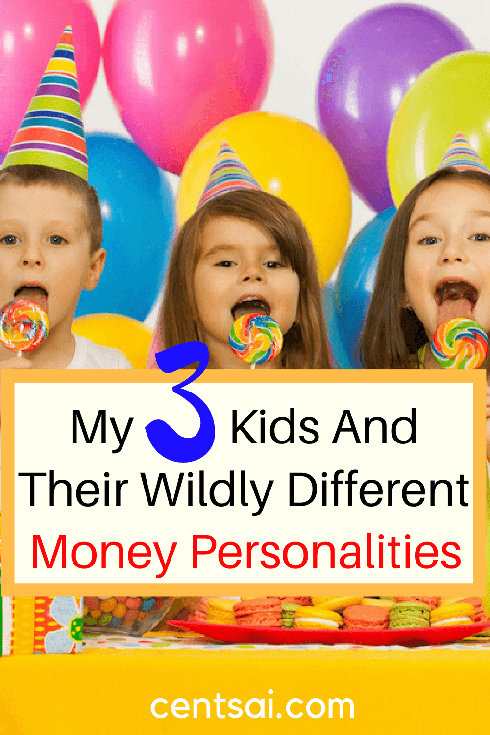 My 3 Kids And Their Wildly Different Money Personalities