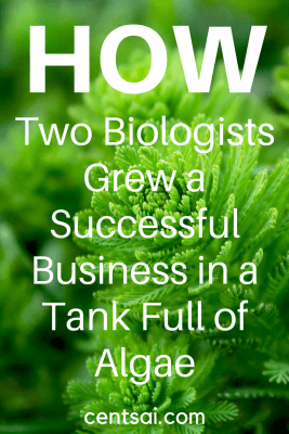 How Two Biologists Grew a Successful Business in a Tank Full of Algae