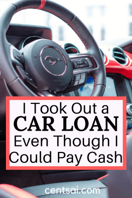 Debt isn't always a bad thing, if you're responsible. I used a car loan even though I didn't need to so that I could build my credit score.