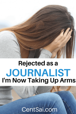Rejected as a Journalist, I'm Now Taking Up Arms