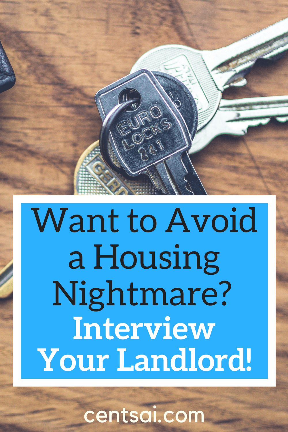 Want to Avoid a Housing Nightmare