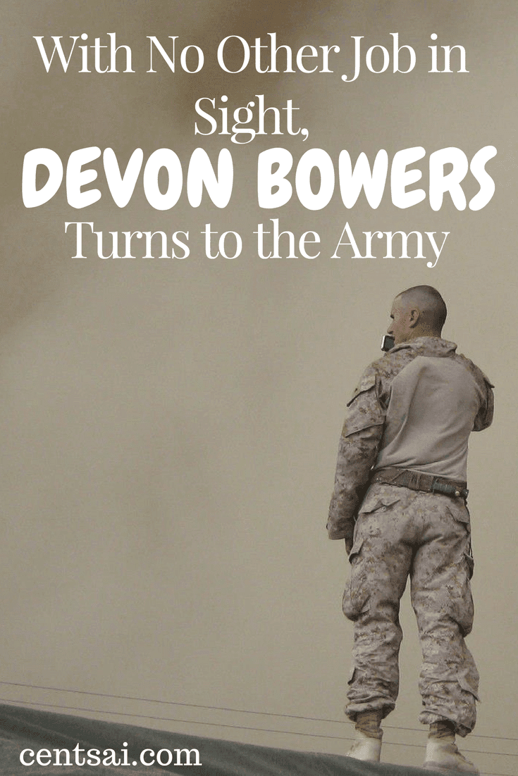 With No Other Job in Sight, Devon Bowers Turns to the Army