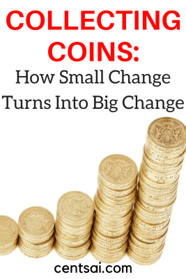 Collecting Coins: How Small Change Turns Into Big Change. If you want real change, start funneling it into glass jars. You'd be amazed at how much you can save by holding onto your spare change.