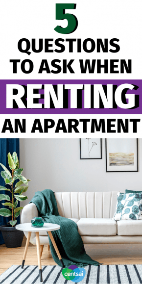 Are you looking for a new apartment? Hold up. Before you sign a lease, make sure you know the most important questions to ask when renting an apartment. Check out these useful tips for you! #CentSai #budget #renting #apartment