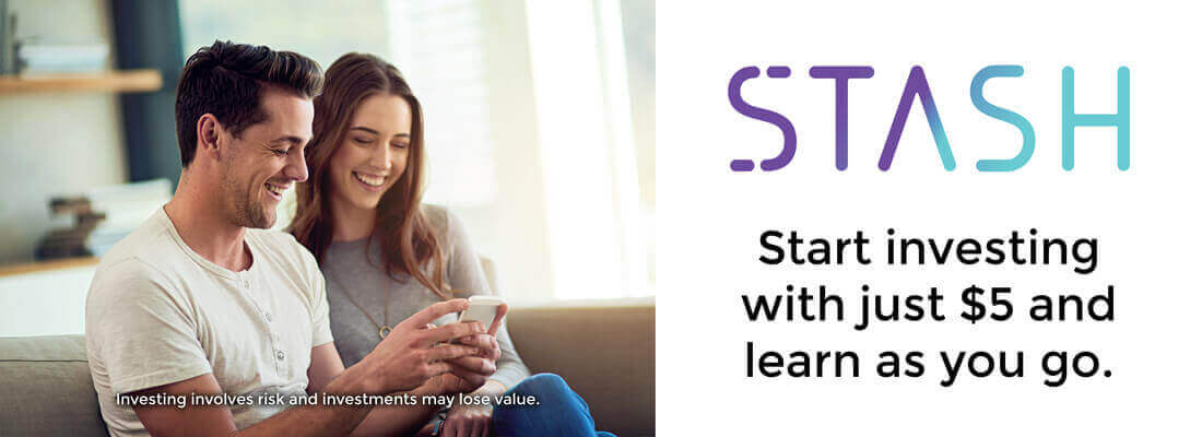 "Stash Invest As - ""learn as you go"""