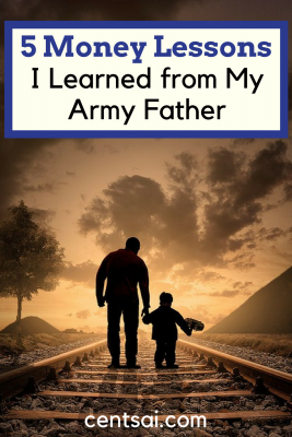 5 Money Lessons I Learned from My Army Father. My army father taught me – and my siblings – the art of living well, planning ahead, and being happy on a small paycheck.