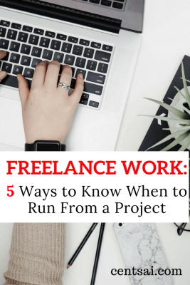"""Freelance work is often grueling, but sometimes things may go too far or a client may ask too much. So make sure you know when to say """"no."""""""