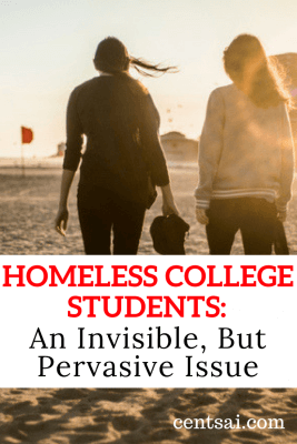 Homeless College Students An Invisible, But Pervasive Issue