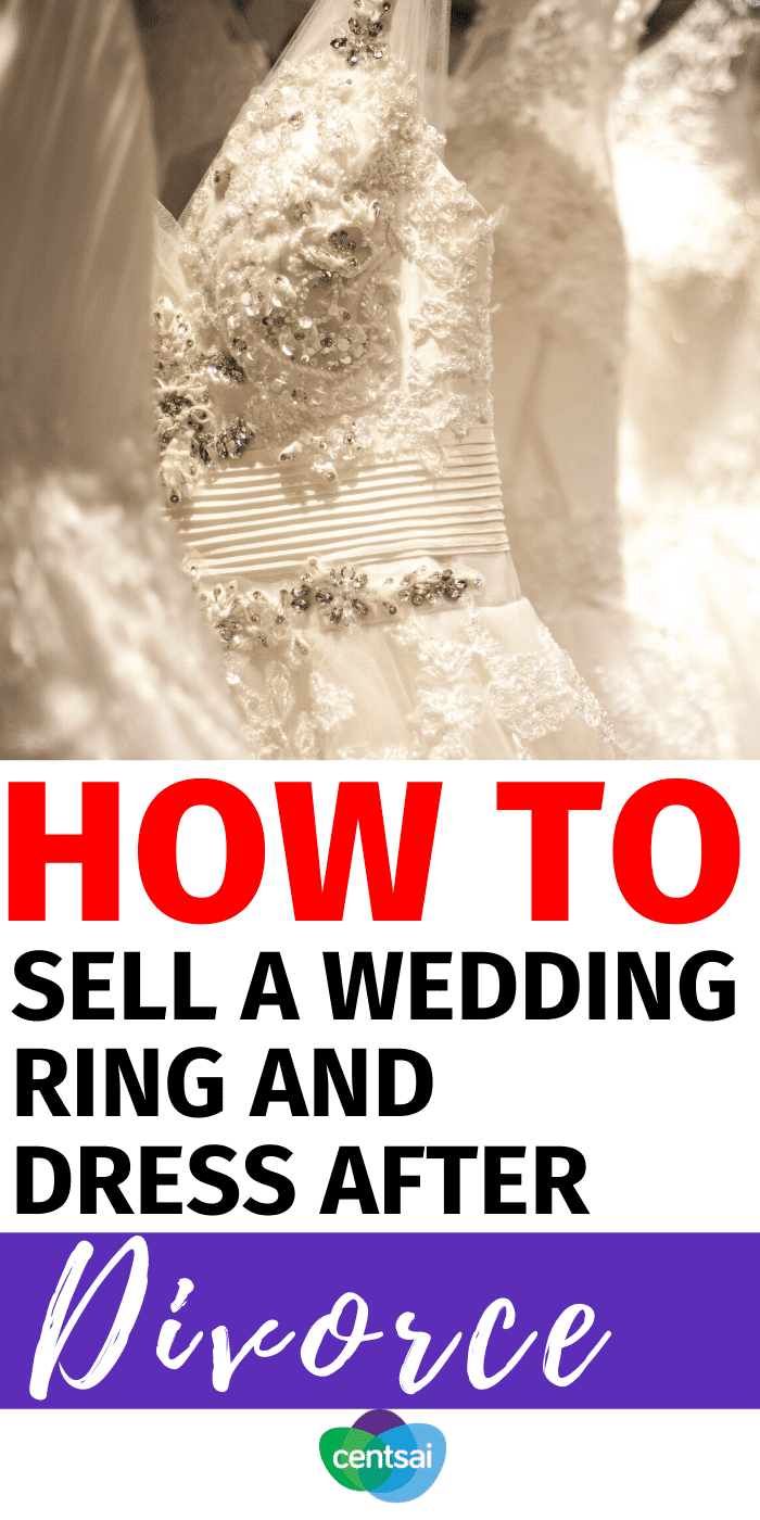 Post Separation Checklist: How to Sell a Wedding Ring and Dress After Divorce