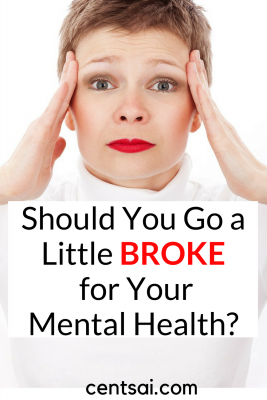 "Should You Go a Little Broke for Your Mental Health? Would you avoid therapy to save money? Or settle for an unideal therapist? When should you ""splurge"" to take care of your mental health?"