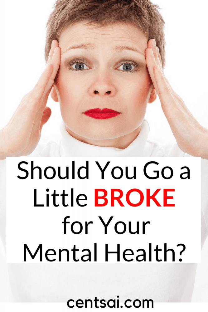 """Should You Go a Little Broke for Your Mental Health? Would you avoid therapy to save money? Or settle for an unideal therapist? When should you """"splurge"""" to take care of your mental health?"""